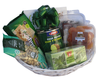 Mishloach manot to Israel Deluxe Healthy Package